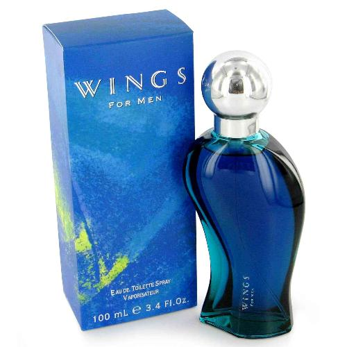 Wings by Giorgio Beverly Hills 3.4 oz EDT for Men