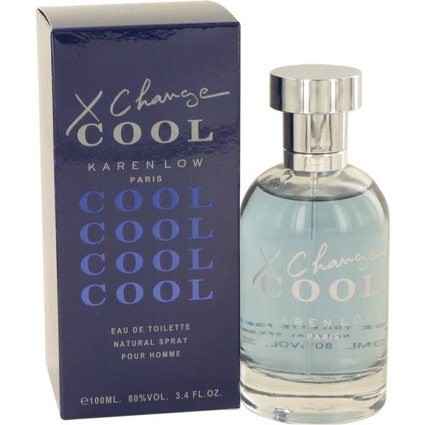 X-Change cool Night by Karen Low 3.4 oz EDT for men