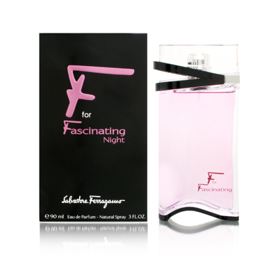F For Fascinating Night by Salvatore Ferragamo 3 oz EDP