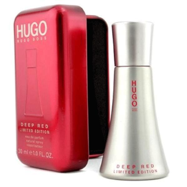 f826e5333f0b Hugo Boss Deep Red limited edition 1 oz EDP for women