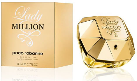 Lady Million by Paco Rabanne 2.7 oz EDP Tester for women